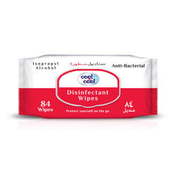 Cool & Cool Disinfectant Wipes-84 Sheets