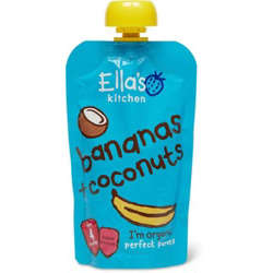 Ella''S Kitchen Organic Puree Bananas + Coconut 120 Gr
