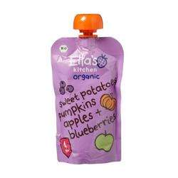Ella''s Kitchen Puree Sweet Potato Pumpkin Blueberries 120 Gr