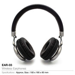 Wireless Head Phone-160x180x80mm