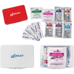 First Aid Kit-Compact (11 Pc Set)-White