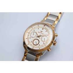 Multidimensional Men''s Two Tone Rose Watch - Stainless Steel S12555M-5 preview