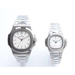 Challenger Pair''s Silver Watch - Stainless Steel S12583L-9P