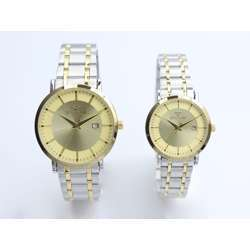 Challenger Pair''s Two Tone Watch - Stainless Steel S25140L-2P