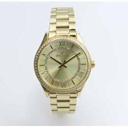 Challenger Women''s Gold Watch - Stainless Steel S25169L-1