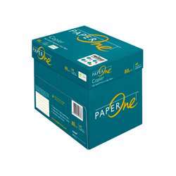 PaperOne Copier (80 gsm) A4 Size Reams (500 sheets) 5 Reams in a Carton