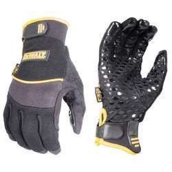 DeWalt TOUGH TACK WORKING GLOVE LARGE DPG260L