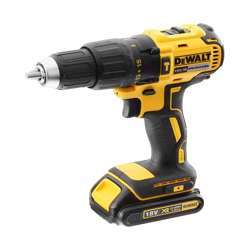 Dewalt DCD778S2-GB 18V XR LI-ION BRUSHLESS COMPACT HAMMER DRILL 1.5AH; 13MM; 2 SPEED; 220V