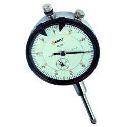 Groz DLG/10 Dial Indicator; 0-10mm; AGD2