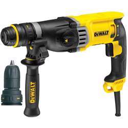 Dewalt D25144K-GB 220V 28MM HEAVY DUTY SDS PLUS COMBINATION HAMMER WITH QCC