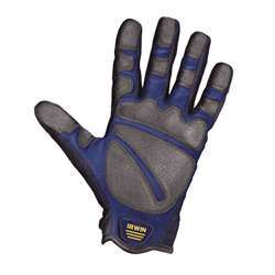 Irwin 10503826 Heavy Duty Jobsite Gloves - Large, abrasion resistant
