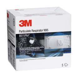 3M 8511Pro Particulate Respirator - Cool Flow N95 10pcs/Pk