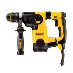 Dewalt D25324K-LX 110V 26MM L-SHAPE SDS-PLUS COMBINATION HAMMER + QCC + AVC