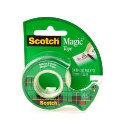 3M 105 Magic Tape With Plastic Dispenser