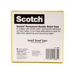3M 665-3436 Scotch Double Sided Tape 3/4x36
