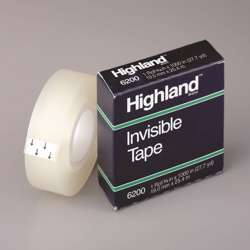 3M 6200 Highland Tape 3/4x36 Yards Bxd preview