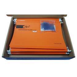 Elfen 927 Deluxe Suspension Folder Fullscape Size Pack Of 50 Pieces Colour Orange