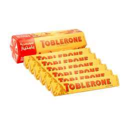 Toblerone Milk Chocolate 6x50g @15% off
