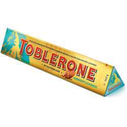 Toblerone Crunchy Almonds Chocolate (10x2x360g)