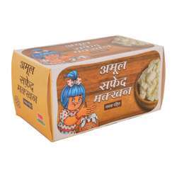 Amul Lactic Butter (White) Unsalted (20x500g)