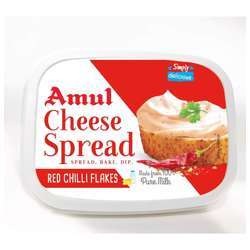 Amul Cheese Spread Red Chillie Flakes (24x200g)