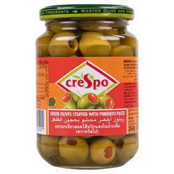 Crespo Green Olive Stuff with Pimento Paste (12x200g)