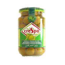 Crespo Whole Green Olives (6x575g)