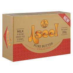 Aseel Pure Butter Unsalted (Slev) (20x200g)