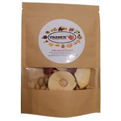 Tradex Mixed Fruit Chips (Apple, Grapes, Peach & Strawberry) - 24gm x 4packs