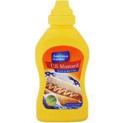 American Garden Banjo Style Yellow Mustard Squeeze (12x8oz)