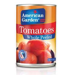 American Garden Whole Peeled Tomatoes (24x400g)