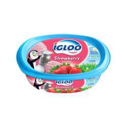 Igloo Milk Based Strawberry Ice Cream (4x2ltr)