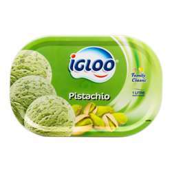 Igloo Milk Based Pistachio Ice Cream (6x1ltr)