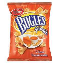 Tiffany Bugles Cheese Flavour Potato Chips (4x12x25g)