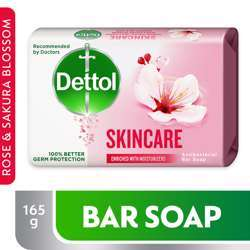 Dettol Soap Skin Care 165g (1x48Pcs)