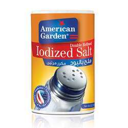 American Garden Iodized Salt (24x26oz)
