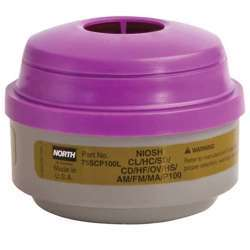 Honeywell by North 75SCP100L North Cartridge and Filter Combination