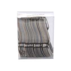 Silver Mini Fork In Box (1 Pack X 50 Pieces)