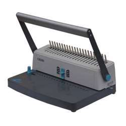 Eagle Spiral Binding Machine CB-280 (Comb-Manual) - Grey/Silver