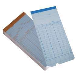Various Time Punching Card A818CA - Multicolor