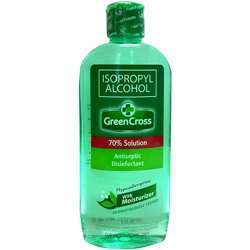 Green Cross Isopropyl Alcohol 70% Solution With Moisturizer - 250ml