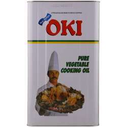 Oki Pure Vegetable Cooking Oil - 18 Ltr