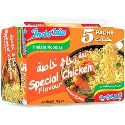 Indomie Instant Noodle Special Chicken 75gm (Pack of 5)