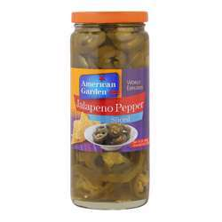 American Garden Sliced Jalapeno Peppers (12x16oz)