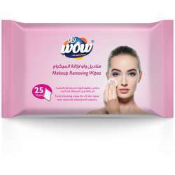 Wow Makeup Remover 25 Wipes