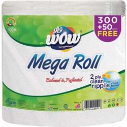 Wow Maxi Roll ( Embossed) 350 Meterx2Ply
