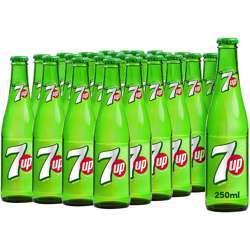7UP Carbonated Soft Drink 250ml (Pack of 24)