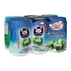 Ice Cool Young Coconut Juice 310ml