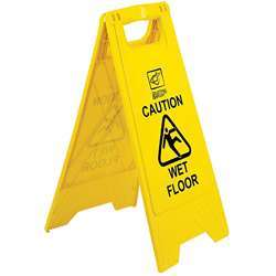 Safety Sign Board – Foldable (Yellow)