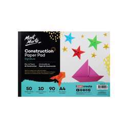 Mont Marte Signature Construction Pad A4 (8.27 × 11.69 In) 50 Sheets